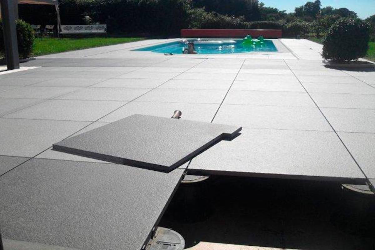 Terrasse sur plots carrelage exterieur Bechet Ceramic Arlon ...
